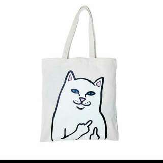 [NOT AVAILABLE]🐱Lord Nermal Tote Bag 🐱