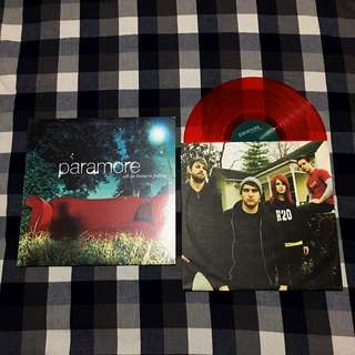 """Paramore """"All We Know Is Falling"""" Vinyl LP Record"""