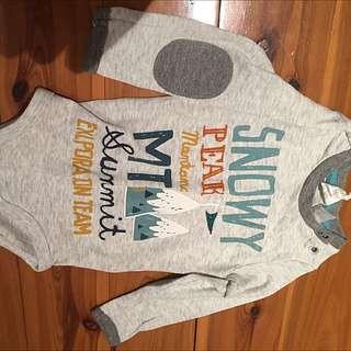 H&M baby boy/girl onesie size 4-6M