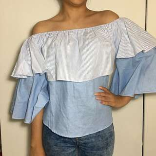 Sabrina Layer Off Shoulder ( 3 Colors Available ) REPRICE