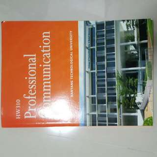NTU professional communication book (for new school term)