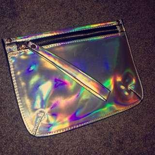 Sports Girl Holographic Handbag