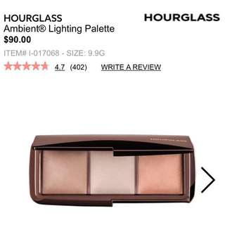 *Sold Pending* Hourglass Ambient Lighting Palette