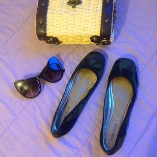 Nine West Camo Flat Shoes