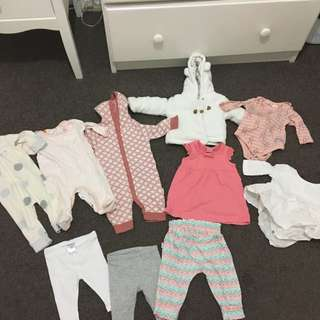 Bundle Of Size 000 Baby Clothes