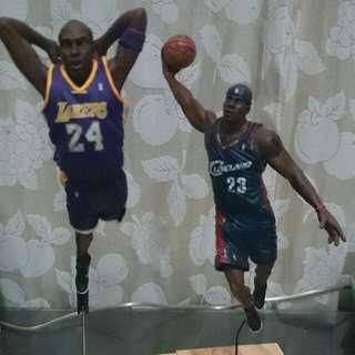 NBA Kobe Bryant 湖人 Lakers 麥法蘭 公仔