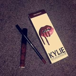 Kylie Jenner Liquid Matte Lipstick - True Brown K