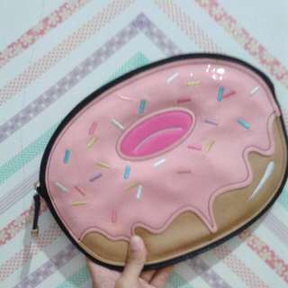 New Look Donut Kawaii Clutch