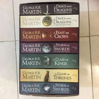 Complete Series Of Game Of Thrones