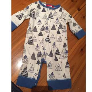 SPROUT baby pajamas size 0-3M