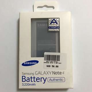 Samsung Note 4 Battery (Authentic)