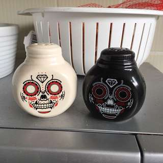 Set Of Salt And Pepper Shakers