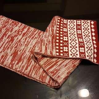 聖誕風 舒適溫暖圍巾