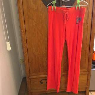 Juicy Couture Track Pants In Size M