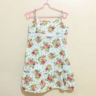 Floral short dress (Reserved)