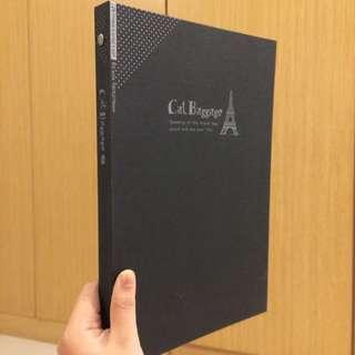黑色簡約風格文件夾