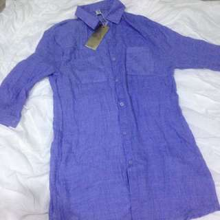 Soft Cotton Long Shirt