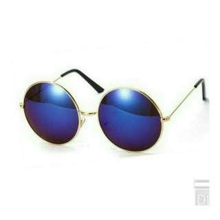 Reflective Round Sunglasses[Instock]