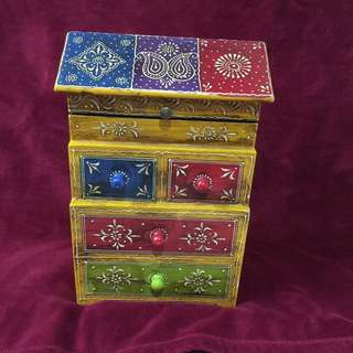 New Beautiful Traditional Hut Shape Jewelry Box