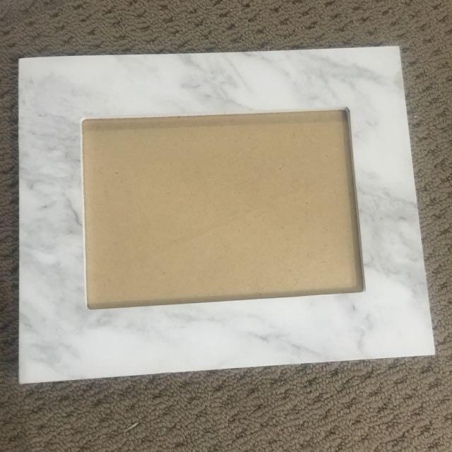 "5 X 7 "" Marbled Photo Frame"