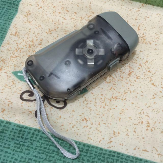 手壓式充電手電筒