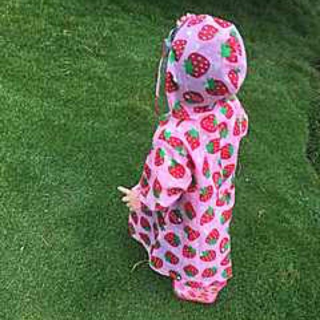 無毒無臭日本原單兒童雨衣