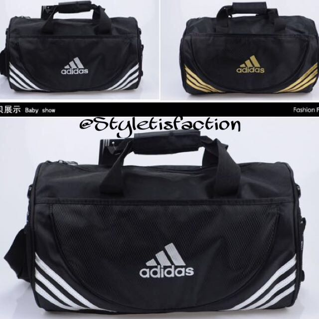 b3696a4a18 Adidas Gym Duffle Bag Sling Messenger