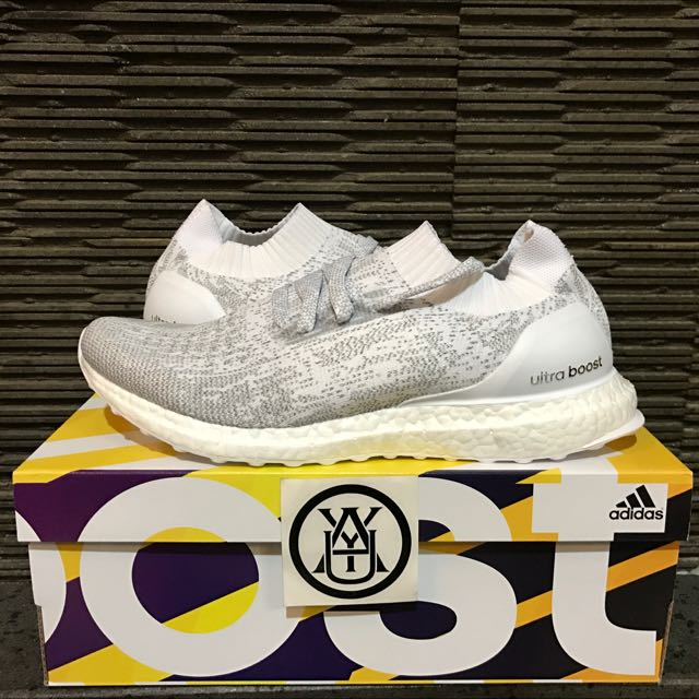a8c633a27de5a Adidas Ultraboost Uncaged Triple White Reflective Original