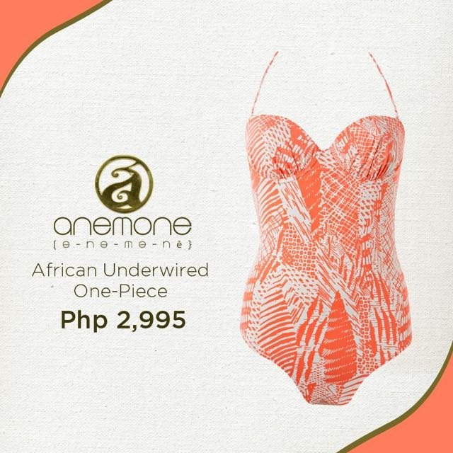 Anemone African Underwired One-Piece Swimsuit