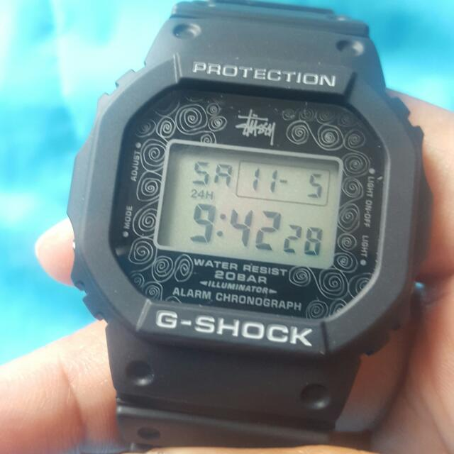 Authentic G Shock X Stussy Collaboration Limited Edition Dw5600 St