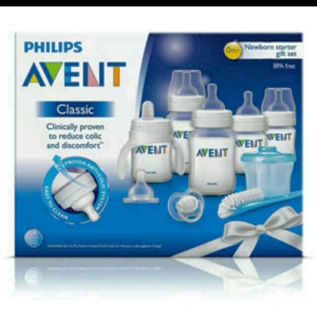 Avent By Philips Stater Kit Set Bpa-free BN