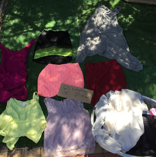 Basket Full Of Clothes For $20