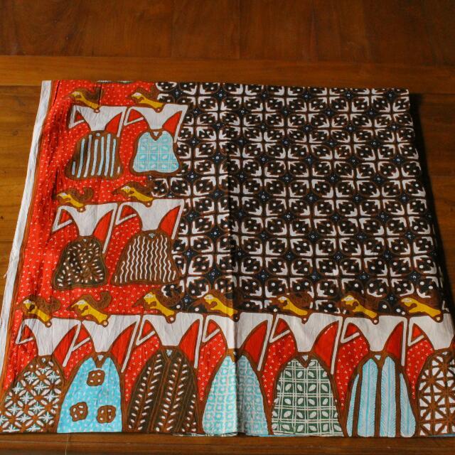 Batik Tulis Kawung Tumpal Wayang Arisan