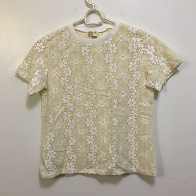Bench Yellow Floral Tee