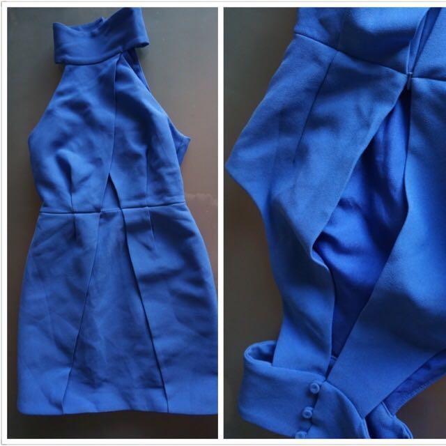 Blue Cocktail Dress Size 6