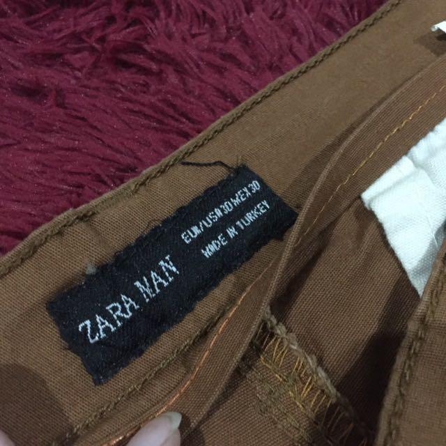 Brown Zara Chino