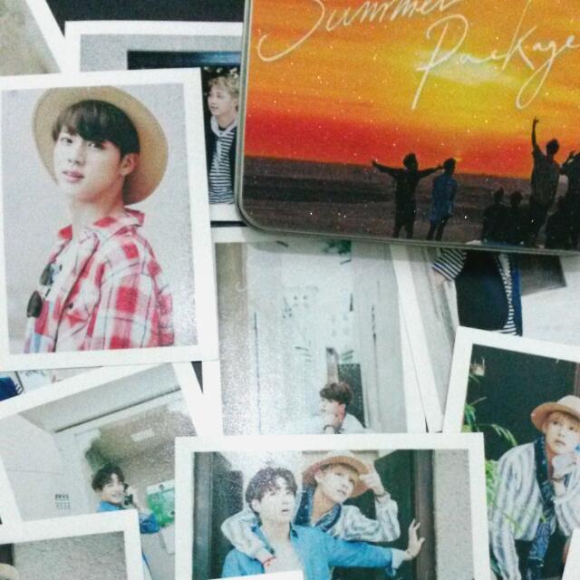 BTS Summer Package in Dubai Polaroid (Unofficial)