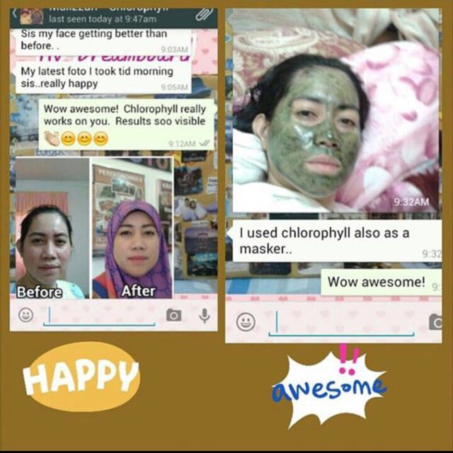 👍CHLOROPHYLL POWDER FOR FAST HEALING OF RASHES ACNE SCARS