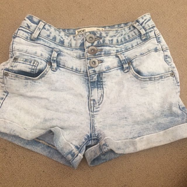 Cotton On high wasted shorts