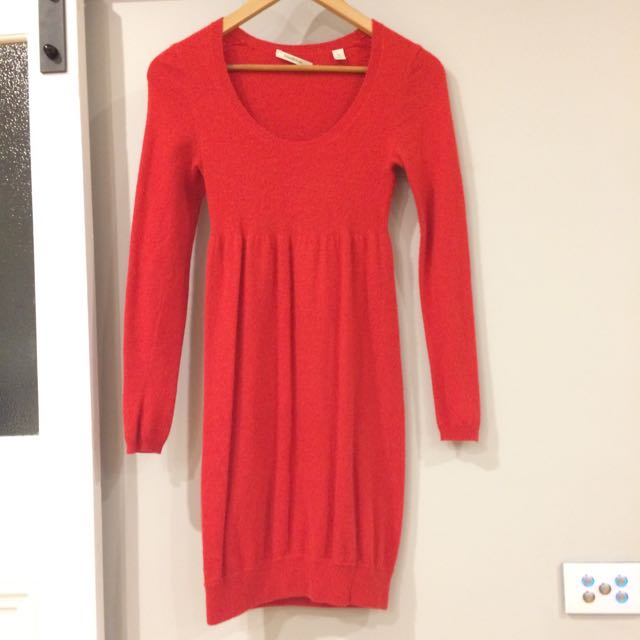 COUNTRY ROAD Wool Knit Dress - Xs