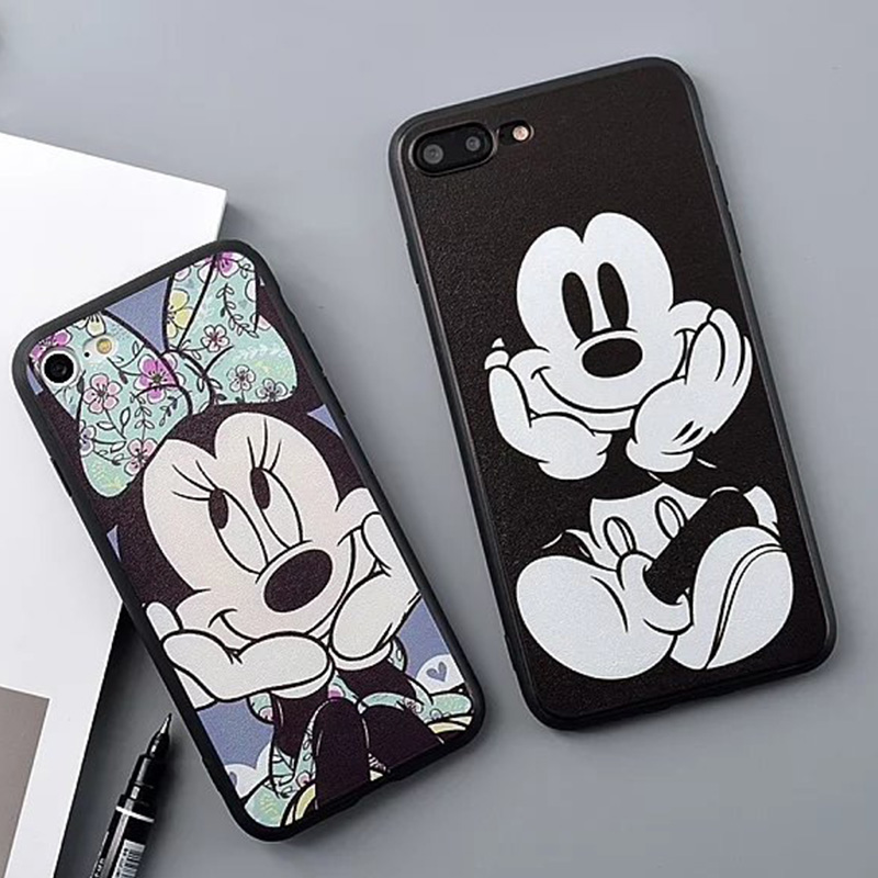 28cd3dd4d0 Disney Inspired Mickey and Minnie Mouse TPU Mobile Hand Cell HP Phone Cover  Case Casing Shell for Apple IPhone 6/6S, 6/6s Plus, IPhone 7 & Plus +  (Keywords: ...