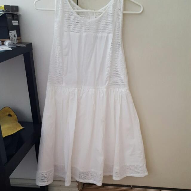 Dotti White Dress Size 14