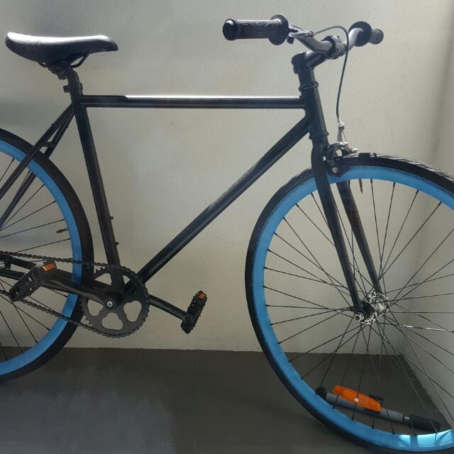 Draft Bike, Single Speed