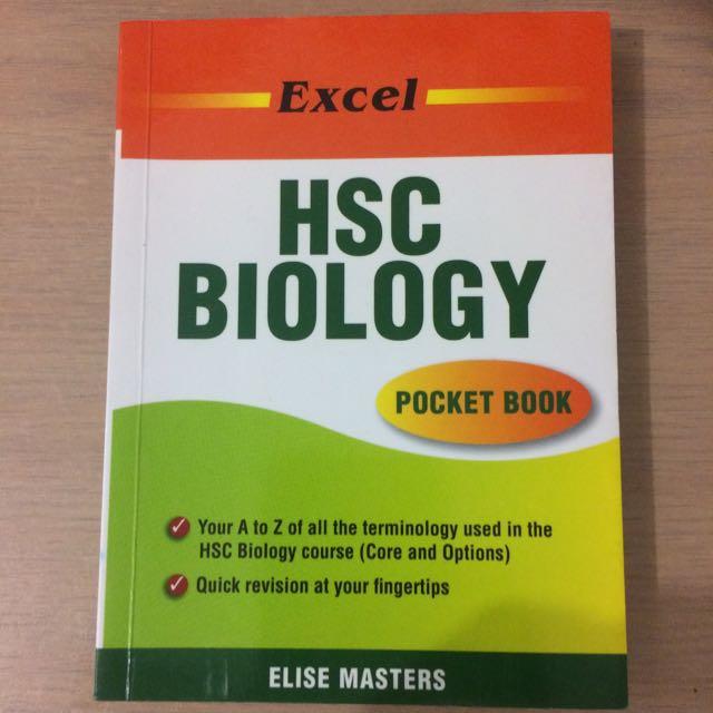 Excel HSC Biology | Pocket Book