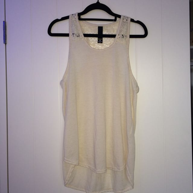 Factorie Embroidered Tank