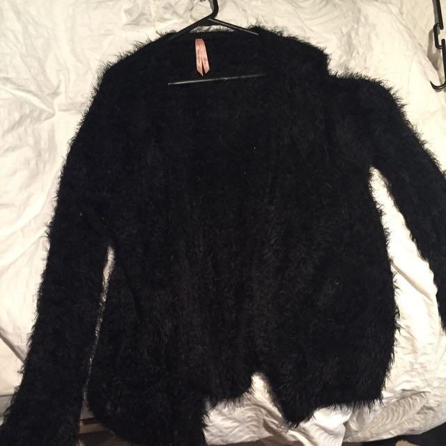Fluffy Jacket Jumper