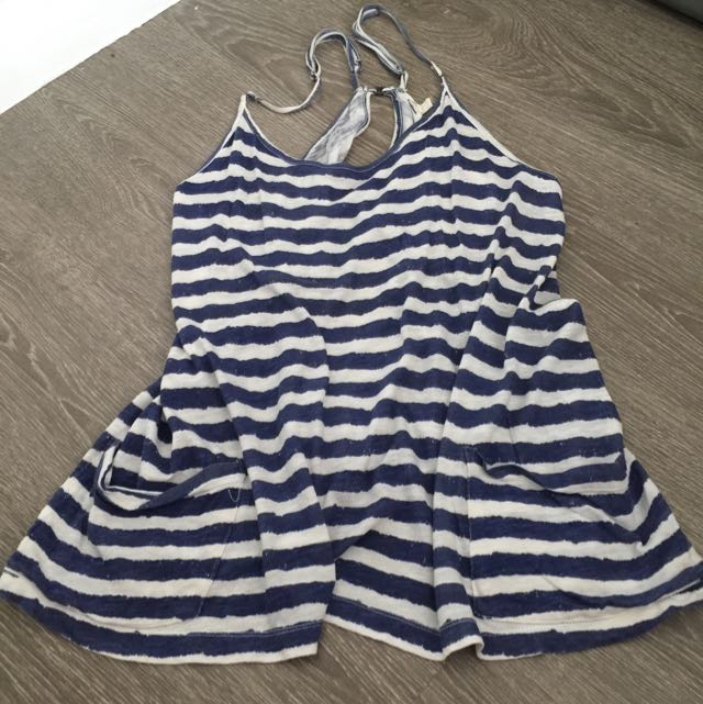 Forever21 Striped Loose Top