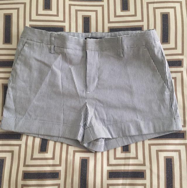 Forever 21 Preppy Striped Shorts