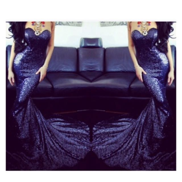 Formal Dress - Mermaid Sequence