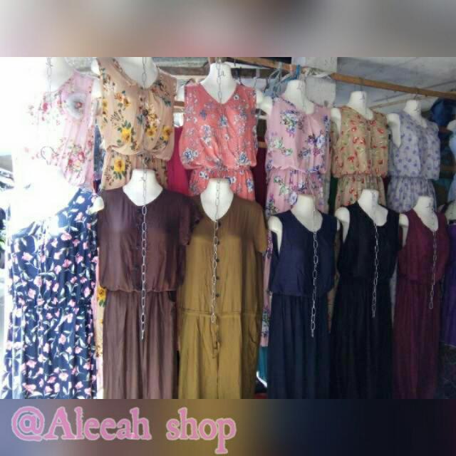 Gamis Buntung Bhn Katun Rayon Uk All Size  Ambil Bnyak Hrga Boleh Nego